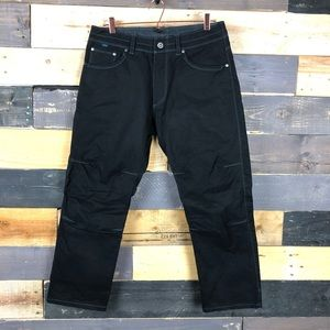 "Men's black KUHL ""RYDR"" pants 32/28 EUC"